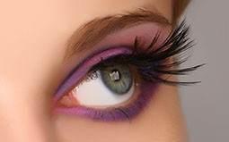 Thumbnail DECORATED FEATHER EYELASHES 29F